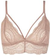 Topshop Lace Triangle Bra