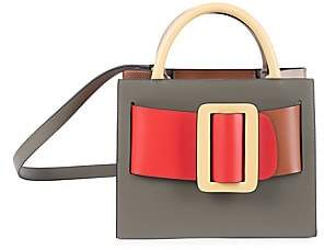 Boyy Women's Bobby Buckle Colorblock Leather Tote