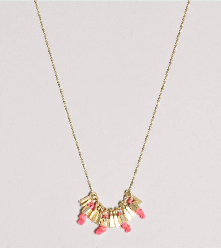 American Eagle AEO Tassel Charm Necklace
