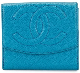 Chanel Pre-Owned CC bifold wallet
