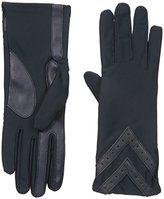 Isotoner Women's Spandex smarTouch Chevron Gloves