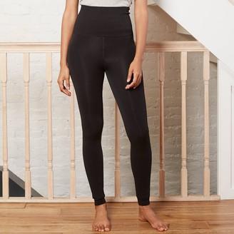 A New Day Women's Seamless High-Waist Faux Fur Lined Leggings