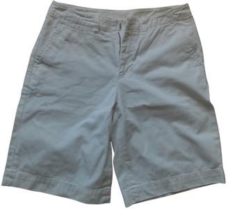 Polo Ralph Lauren White Cotton Shorts for Women