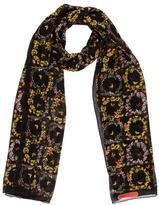 Salvatore Ferragamo Butterfly Floral Silk Scarf