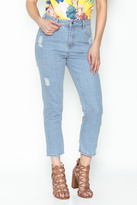 Honey Punch Distressed Denim Jeans