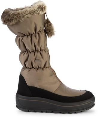 Pajar Tegan Faux Fur-Trim Snow Boots