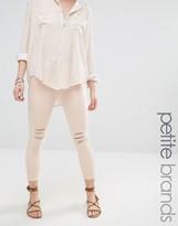 Vero Moda Petite Skinny Ankle Grazer Jeans