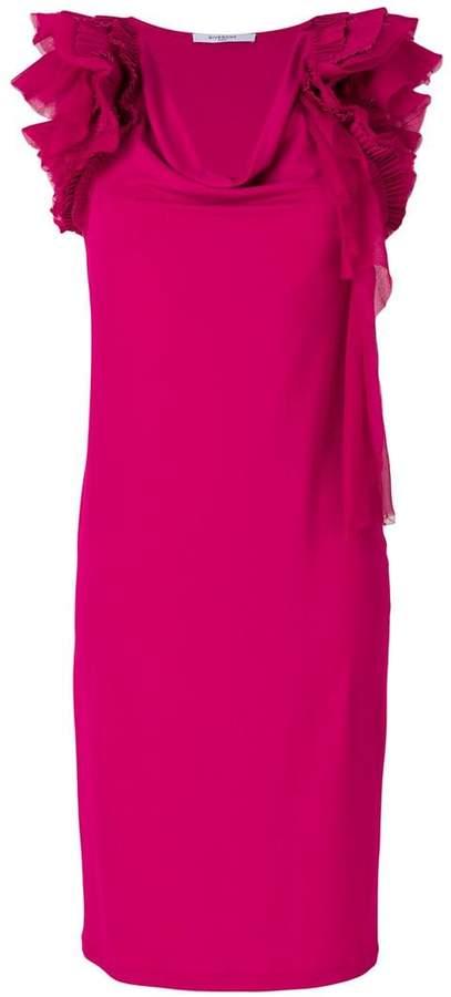 Givenchy ruffle-trim shift dress