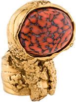 Saint Laurent Arty Cocktail Ring