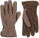 Barneys New York Men's Merino Wool-Cashmere & Suede Gloves