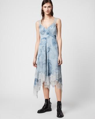 AllSaints Skylar Hatsukoi Dress