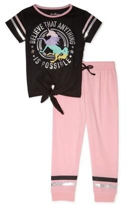 dELiA*s Girls Pajama Set, 2-Piece, Sizes 4-16