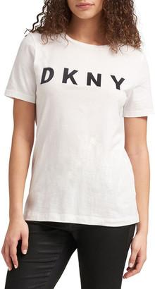 DKNY Foundation - Short Sleeve Logo Tee