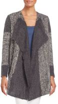 Splendid Wool-Blend Patchwork Cardigan