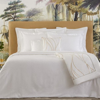 Yves Delorme Plisse Fitted Sheet