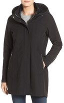 Kristen Blake Water Repellent Hooded Soft Shell Jacket (Regular & Petite)
