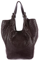 Givenchy Embossed Leather Tote