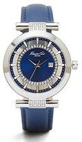 Kenneth Cole New York Women's 10021102 Transparency Analog Display Japanese Quartz Blue Watch