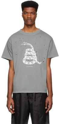 Satisfy Grey Moth Eaten U.S.A. Tour T-Shirt