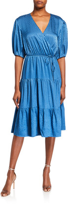 Rebecca Minkoff Mary Satin Jacquard Dress