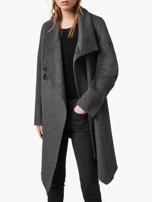 AllSaints Wool Blend Monument Eve Coat