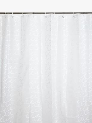 John Lewis & Partners Peva Sea Loop Shower Curtain