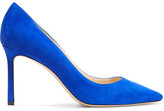 Jimmy Choo Romy Suede Pumps - Cobalt blue