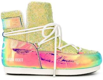 Moon Boot Glicine iridescent boots