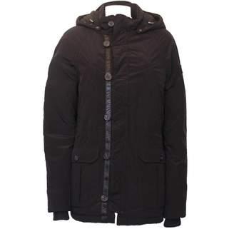 Armani Jeans Black Synthetic Coats