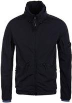Cp Company Chrome Navy Nylon Hooded Watchviewer Jacket