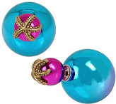 Betsey Johnson BETSEY AND THE SEA FRONT BACK EARRINGS