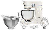 AEG KM4100 Ultramix Kitchen Machine - Gloss Cream