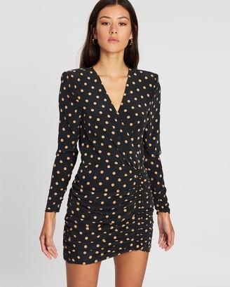 Bec & Bridge Paradis Long Sleeve Mini Dress