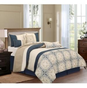Nanshing Athens 7-Piece California King Comforter Set Bedding