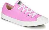 Converse Chuck Taylor All Star Dainty Seasonal Color women's Shoes (Trainers) in Pink