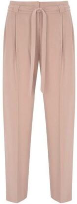 Mint Velvet Blossom Belted Tapered Trouser