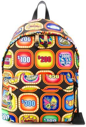 Moschino Slot Machine Print Backpack