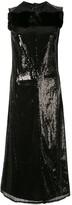 Yang Li sequinned midi dress