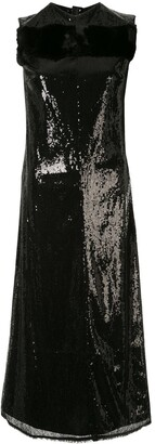 Yang Li Sequinned Midi Dress