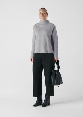 Eden Ribbed Merino Wool Knit