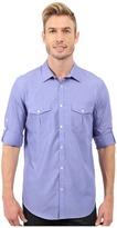 Calvin Klein Long Sleeve Cotton Tencel® Chambray Shirt