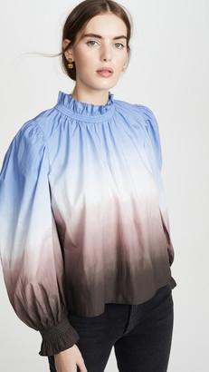 Sea Ombre Long Sleeve Blouse