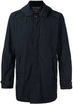 Woolrich hooded button jacket - men - Cotton/Polyamide/Polyester - L