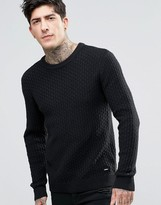 Dr. Denim Scott Pearl Knit Sweater