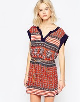 Brave Soul Belted Tunic Dress
