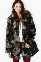 Cat Scratch Fever Faux Fur Coat