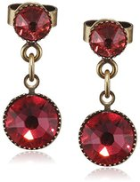 Konplott Waterfalls Brass Glass Multi Women's Earrings – 5450543307589