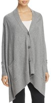 Donna Karan High/Low Cardigan