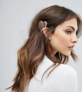 Orelia Metal Heart Hair Slide