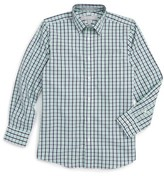 Nordstrom Boy's Check Cotton Poplin Dress Shirt